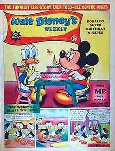 Cover for Walt Disney's Weekly (Disney/Holding, 1959 series) #v3#12