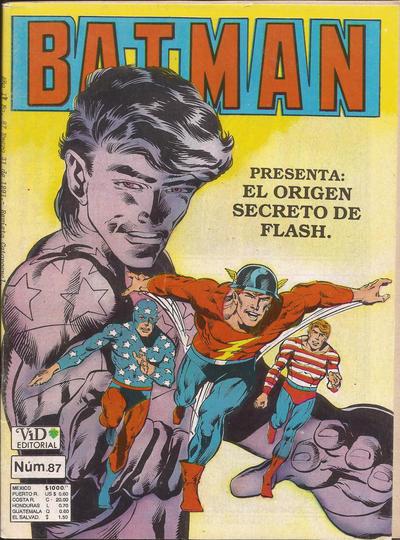 Cover for Batman (Grupo Editorial Vid, 1987 series) #87