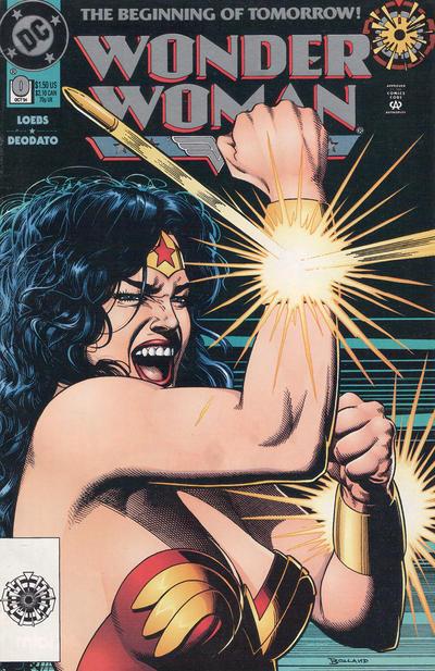Cover for Wonder Woman (DC, 1987 series) #0 [Zero Hour Logo]