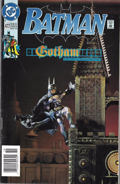 Cover for Batman (DC, 1940 series) #477 [Direct Edition]