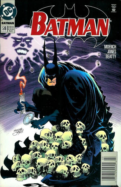 Cover for Batman (DC, 1940 series) #516 [Direct Edition]