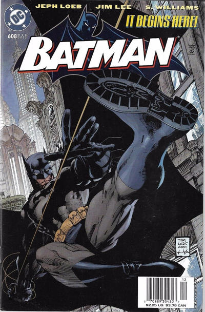 Cover for Batman (DC, 1940 series) #608 [Direct Edition]