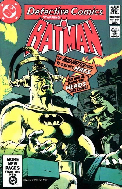 Cover for Detective Comics (DC, 1937 series) #510 [Direct Edition]