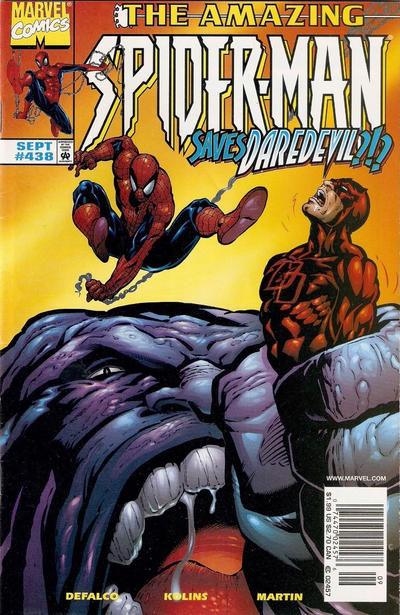 Cover for The Amazing Spider-Man (Marvel, 1963 series) #438 [Direct Edition]