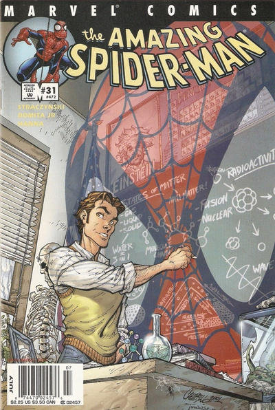 Cover for The Amazing Spider-Man (Marvel, 1999 series) #31 (472) [Direct Edition]