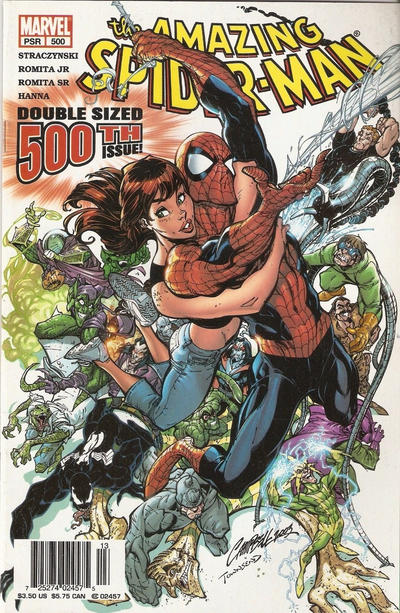 Cover for The Amazing Spider-Man (Marvel, 1999 series) #500