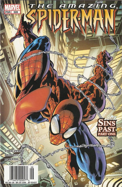Cover for The Amazing Spider-Man (Marvel, 1999 series) #509 [Direct Edition]
