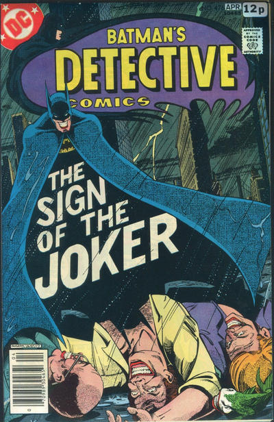 Cover for Detective Comics (DC, 1937 series) #476 [Regular Edition]