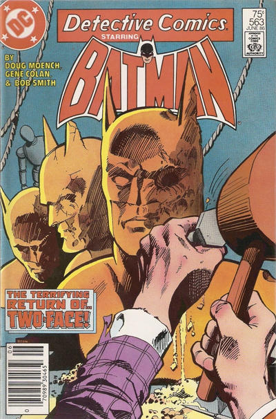 Cover for Detective Comics (DC, 1937 series) #563 [Direct Edition]