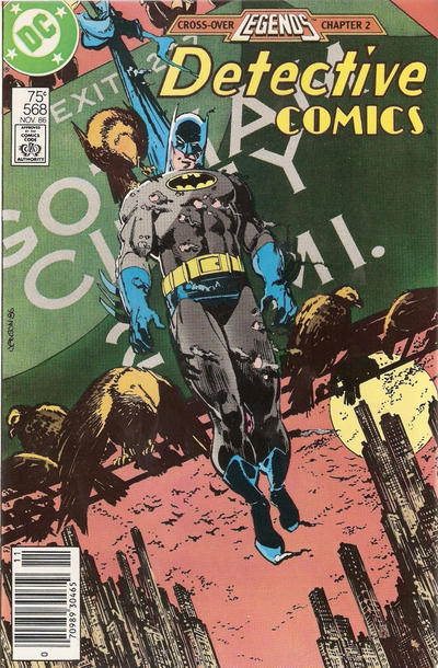 Cover for Detective Comics (DC, 1937 series) #568 [Newsstand]