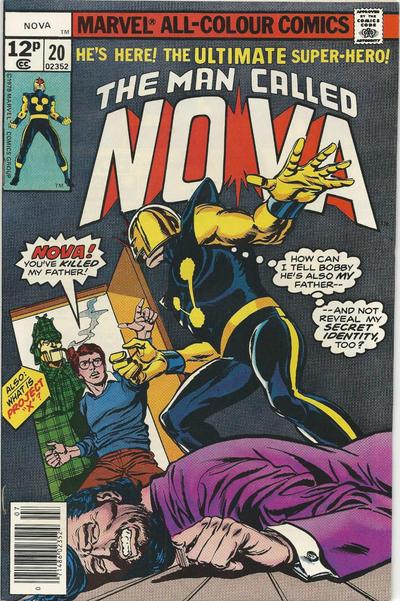 Cover for Nova (Marvel, 1976 series) #20 [Regular Edition]