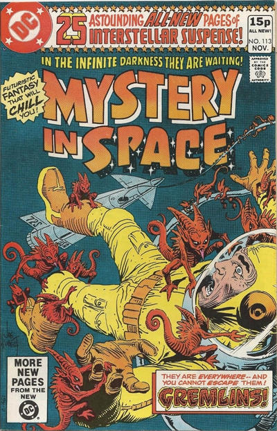 Cover for Mystery in Space (DC, 1951 series) #113 [Newsstand]