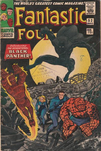 Cover for Fantastic Four (Marvel, 1961 series) #52 [Regular Edition]
