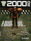 Cover for 2000 AD (Rebellion, 2001 series) #1998