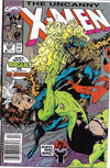 Cover Thumbnail for The Uncanny X-Men (1981 series) #269 [Newsstand Edition]