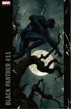 Cover for Black Panther (Marvel, 2016 series) #11 [Incentive Joe Jusko Corner Box Variant]