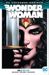Cover for Wonder Woman (DC, 2017 series) #1 - The Lies
