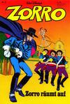 Cover for Zorro (Egmont Ehapa, 1979 series) #3/1979