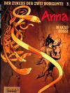 Cover for Der Zyklus der zwei Horizonte (Carlsen Comics [DE], 1992 series) #3 - Anna