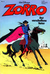 Cover for Zorro (Egmont Ehapa, 1979 series) #4/1980