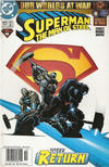 Cover Thumbnail for Superman: The Man of Steel (1991 series) #117 [Newsstand Edition]
