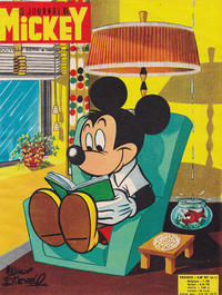 Cover Thumbnail for Le Journal de Mickey (Disney Hachette Presse, 1952 series) #521