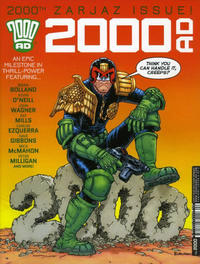 Cover Thumbnail for 2000 AD (Rebellion, 2001 series) #2000