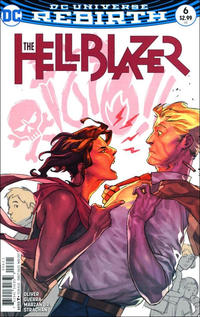 Cover Thumbnail for Hellblazer (DC, 2016 series) #6 [Yasmine Putri Cover Variant]