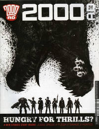 Cover Thumbnail for 2000 AD (Rebellion, 2001 series) #2001
