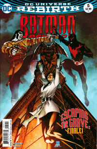 Cover Thumbnail for Batman Beyond (DC, 2016 series) #5 [Bernard Chang Cover]