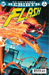 Cover Thumbnail for The Flash (DC, 2016 series) #17 [Howard Porter Variant Cover]