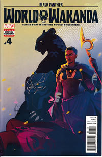 Cover Thumbnail for Black Panther: World of Wakanda (Marvel, 2017 series) #4