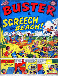 Cover Thumbnail for Buster (IPC, 1960 series) #17 July 1976 [818]