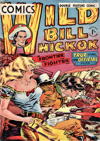 Cover Thumbnail for Wild Bill Hickok Comics (Thorpe & Porter, 1952 series) #[1]