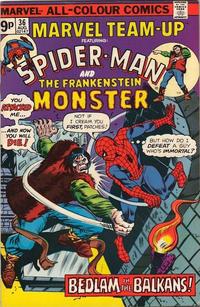 Cover Thumbnail for Marvel Team-Up (Marvel, 1972 series) #36 [British]