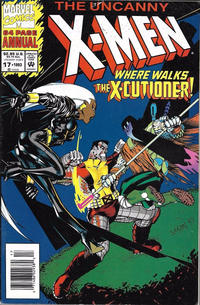 Cover Thumbnail for The Uncanny X-Men Annual (Marvel, 1992 series) #17 [Newsstand Edition]