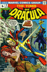 Cover Thumbnail for Tomb of Dracula (Marvel, 1972 series) #9 [British]