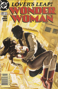 Cover for Wonder Woman (DC, 1987 series) #207 [Direct Edition]