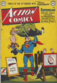 Cover Thumbnail for Action Comics (DC, 1938 series) #151