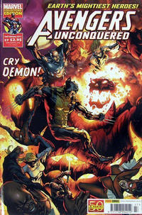 Cover Thumbnail for Avengers Unconquered (Panini UK, 2009 series) #27