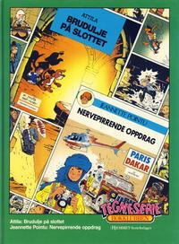 Cover Thumbnail for Tegneseriebokklubben (Hjemmet / Egmont, 1985 series) #56 - Attila: Brudulje på slottet; Jeanette Pointu: Nervepirrende oppdrag