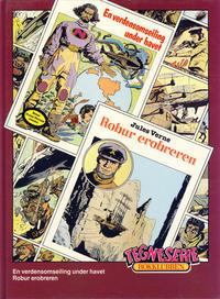 Cover Thumbnail for Tegneseriebokklubben (Hjemmet / Egmont, 1985 series) #66 - En verdensomseiling under havet; Robur erobreren