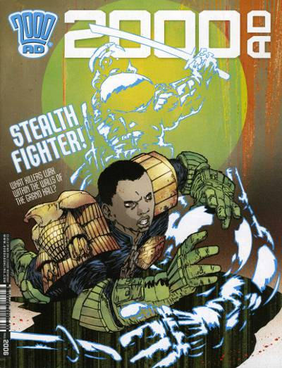 Cover for 2000 AD (Rebellion, 2001 series) #2006