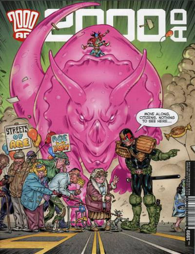 Cover for 2000 AD (Rebellion, 2001 series) #1999