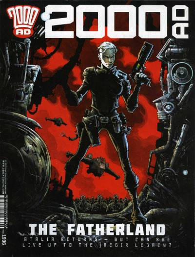 Cover for 2000 AD (Rebellion, 2001 series) #1996