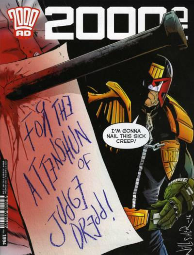 Cover for 2000 AD (Rebellion, 2001 series) #1994