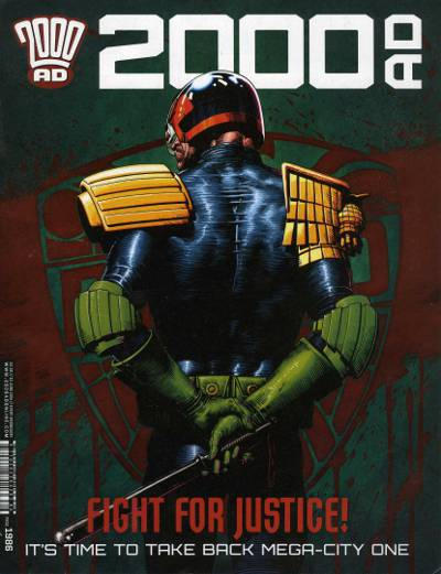 Cover for 2000 AD (Rebellion, 2001 series) #1986