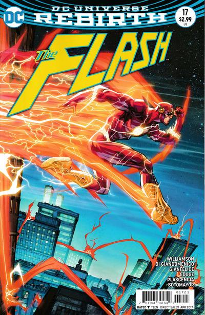 Cover for The Flash (DC, 2016 series) #17 [Carmine Di Giandomenico Cover]