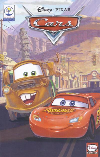 Cover for Disney·Pixar Cars (Joe Books, 2017 series) #1