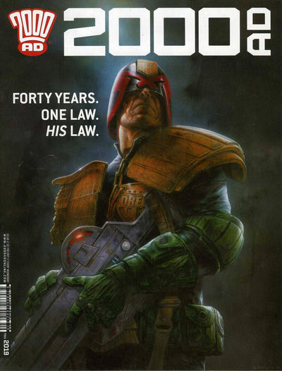 Cover for 2000 AD (Rebellion, 2001 series) #2019